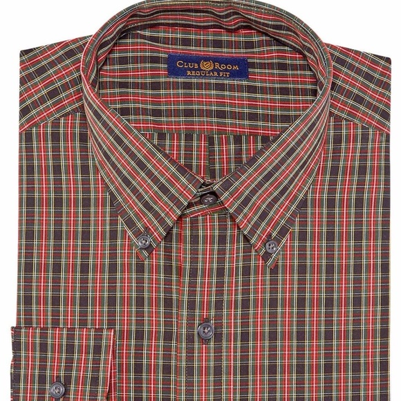 XQS Mens Classic Long Sleeve Cotton Western Button Up Flannel Shirt